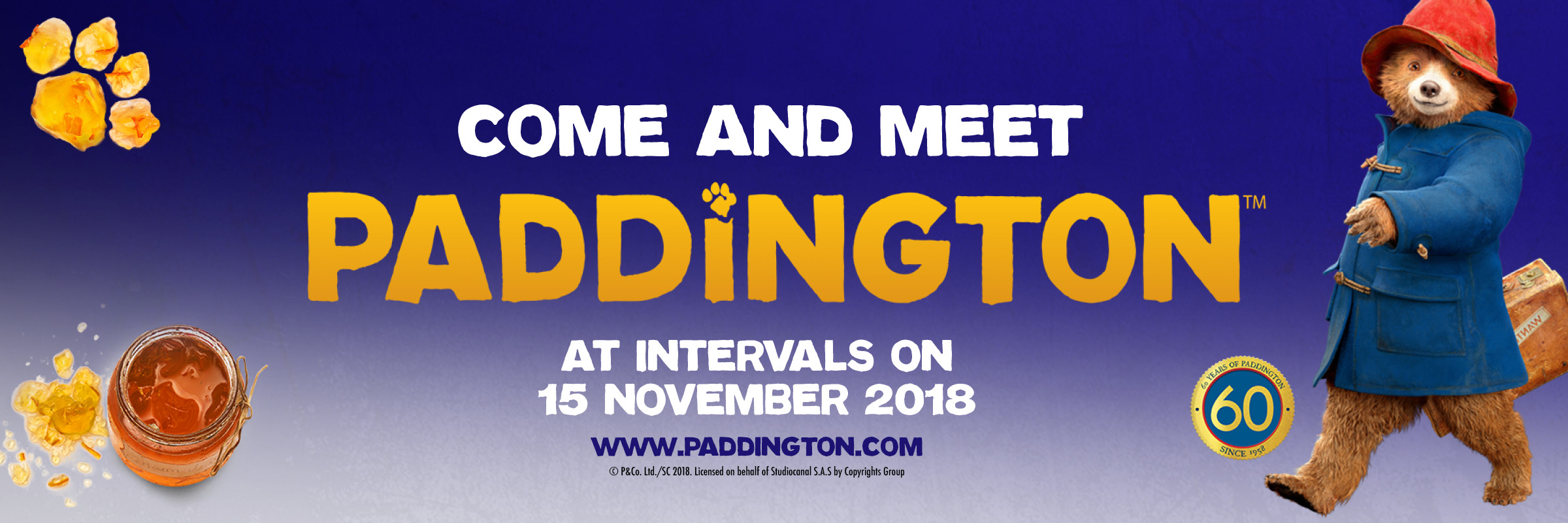 Come and Meet Paddington!
