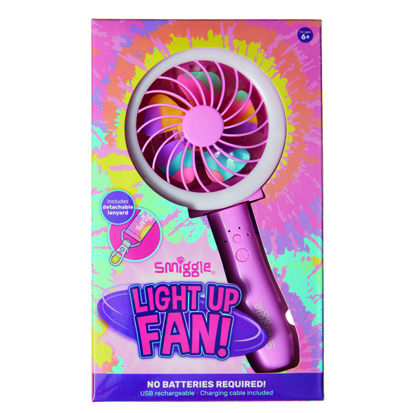 NEW Light Up Fan At Smiggle!