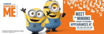 Meet the Minions at The Friary Guildford