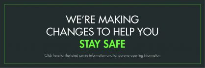Helping you to stay safe on your next visit...