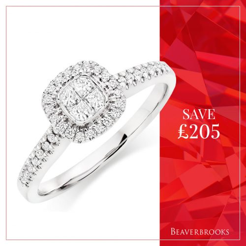 Diamond ring in the Beaverbrooks Sale