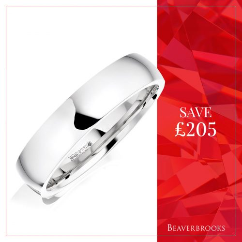 Silver ring in the Beaverbrooks sale