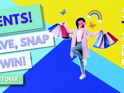 Students! Shop, Save, Snap & WIN!*
